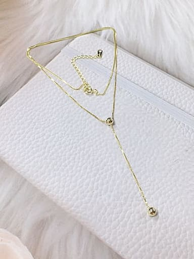 925 Sterling Silver Ball Dainty Locket Necklace