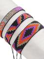 thumb Multi Color Miyuki DB  Bead Geometric Artisan Handmade Weave Bracelet 0