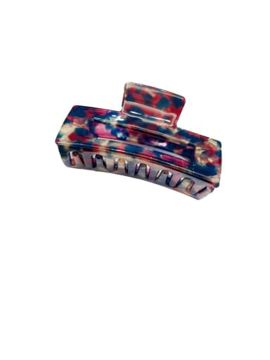 Floral purple-7.5cm Alloy With Cellulose Acetate  Fashion Geometric Barrettes & Clips