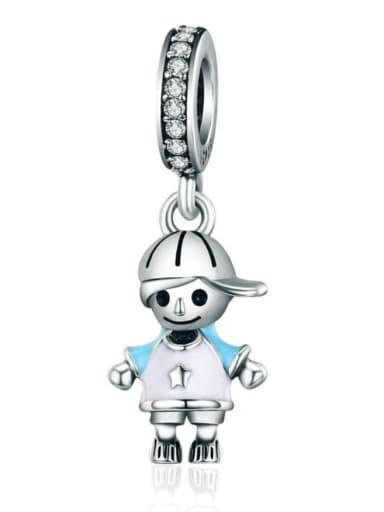925 silver boy charms