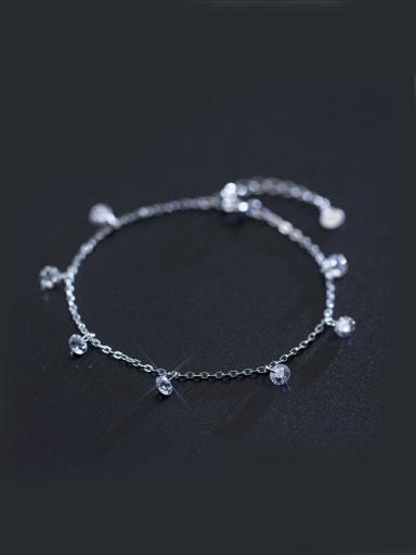 S925 Silver  Sweet Fashion Simple Bracelet
