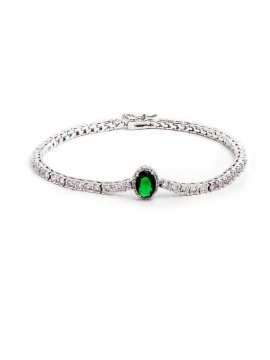 AAA zircon simple and fashionable multicolor zirconium Bracelet