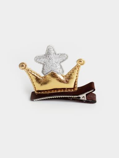 PU Crown Hair clip
