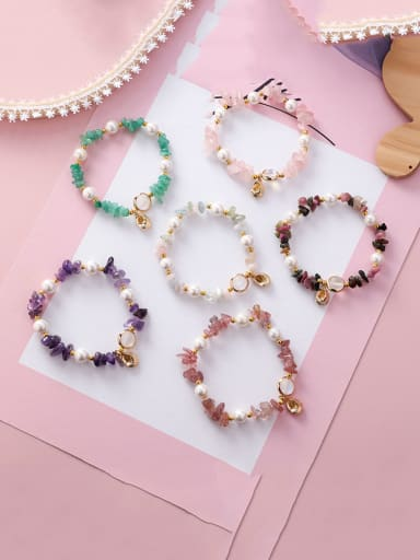 Alloy WithShell Fashion  AlienIrregular Charm Conch Bracelets