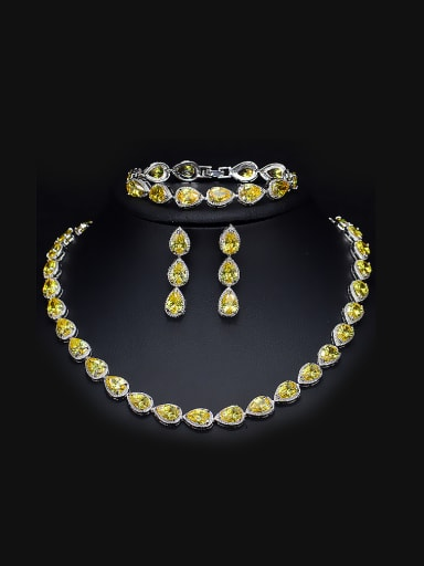 Noble Wedding Two Pieces Jewelry Set