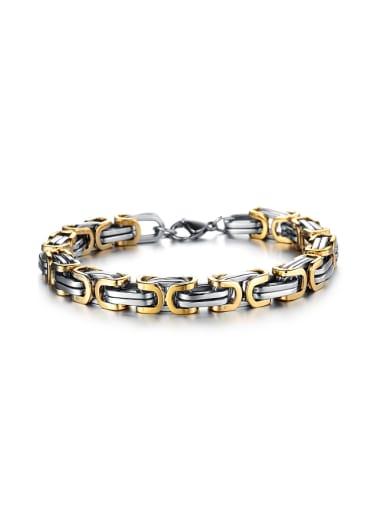 Personalized Titanium Plating Bracelet