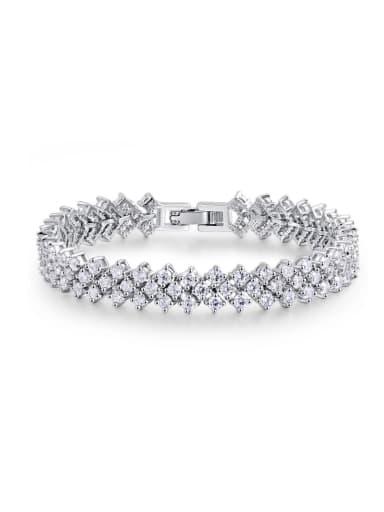 Ultra fine AAA zircon Rome Bracelet