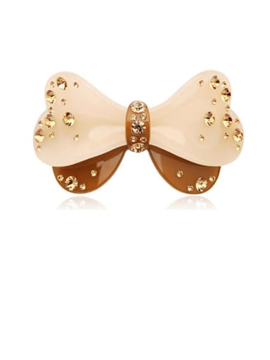 Alloy With Cellulose Acetate Cute Butterfly Barrettes & Clips