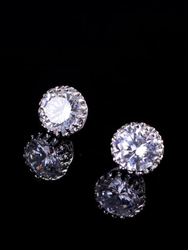 Shining Zircon Small stud Earring