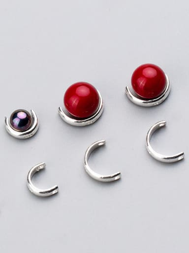 925 Sterling Silver With Silver Plated Classic Bead Tips
