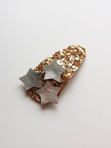 Star Glitter Hair clip