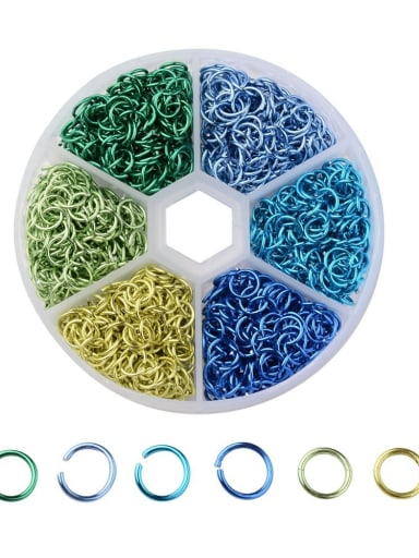 aluminum With 6mm connecting ring color-mixing box DIY accessories