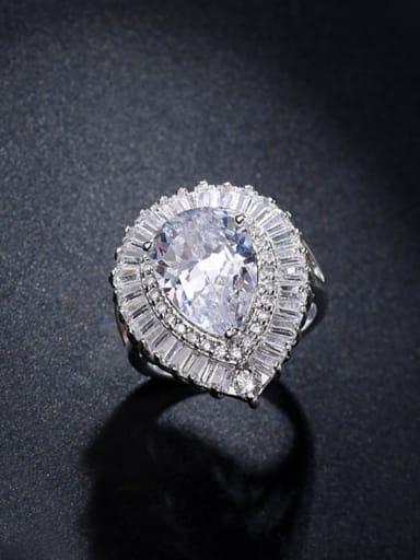 AAA Zircons Wedding Accessories Engagement Ring