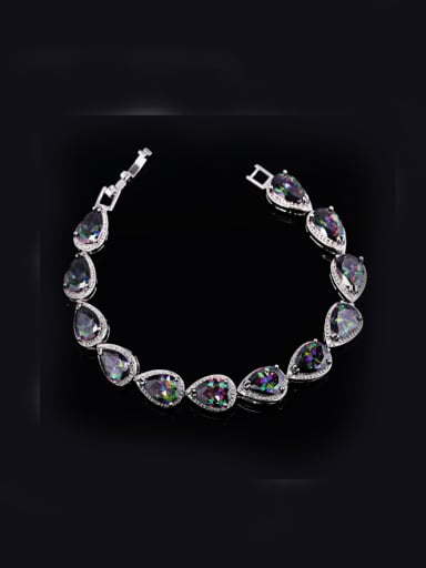 Water Drop Zircons Bracelet