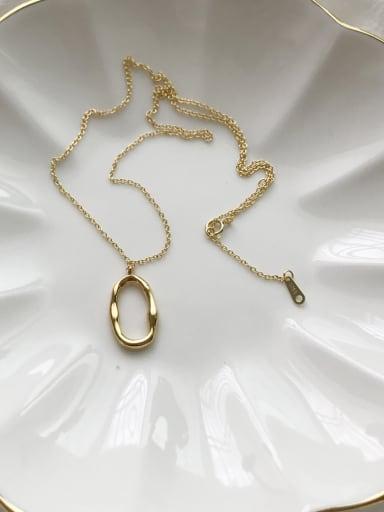 sterling silver irregular shape design necklace
