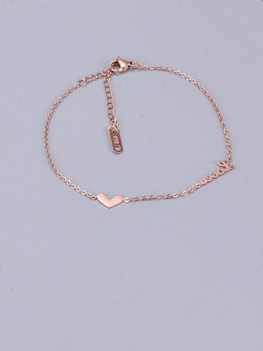 Titanium Heart Minimalist Adjustable Bracelet