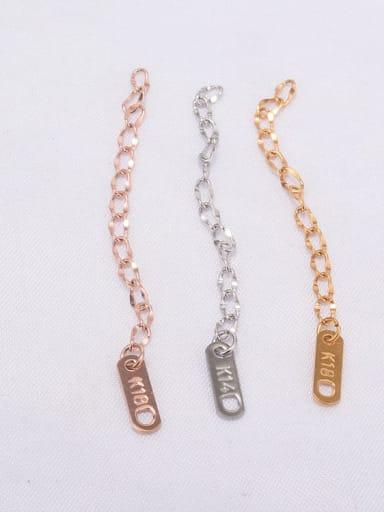 Titanium  Minimalist Chain tail