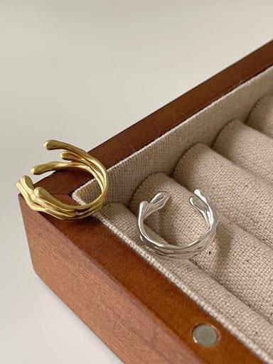 925 Sterling Silver Flower Vintage Stackable Ring