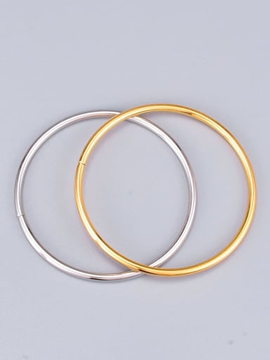 Titanium Round Minimalist Band Bangle