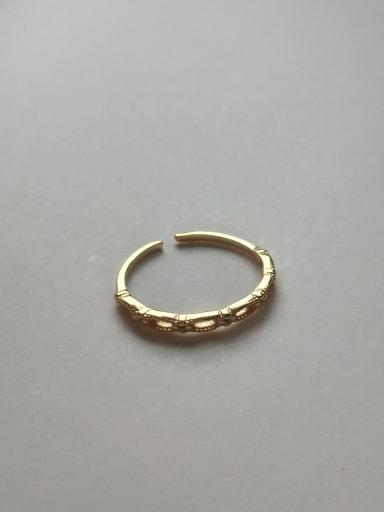 J 746 925 Sterling Silver Letter Minimalist Free Size Midi Ring