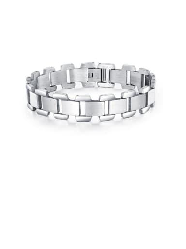 Titanium Geometric Minimalist Bracelets