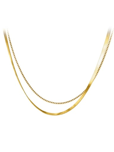 925 Sterling Silver Round Minimalist Snake Chain