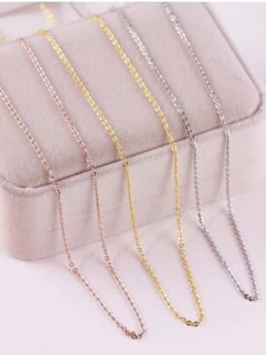 Titanium Minimalist Cable Chain