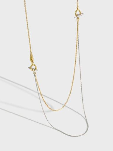 925 Sterling Silver Tassel Ethnic Lariat Necklace