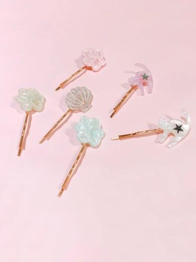 Minimalist Flower Alloy Hair Pin