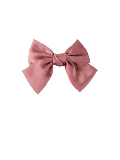 D Pink (hairpin style) Alloy With Gun Plated Fashion Ribbon  Butterfly Hair Ropes
