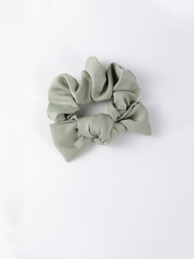 E green Ribbon bow headband tied hair hair band