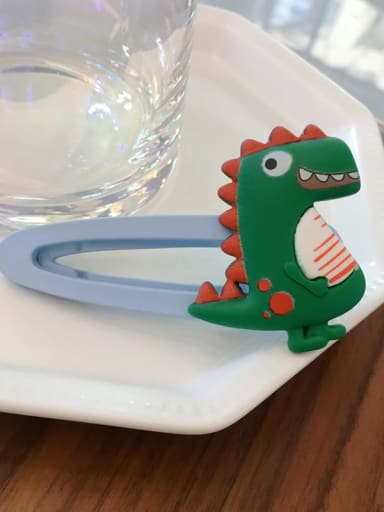 Little dinosaur Alloy Resin Bear Bunny Dinosaur Fruit Cartoon Clip BB Clip