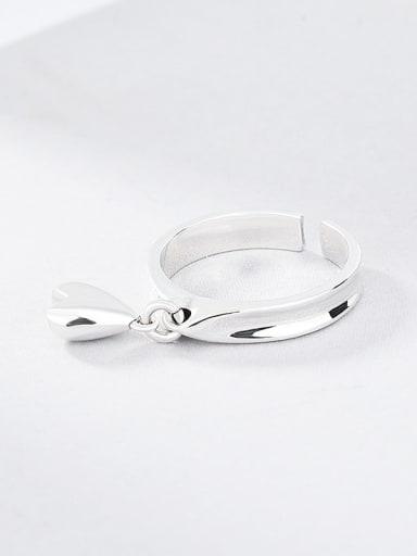 925 Sterling Silver Little Love Vintage Band Ring