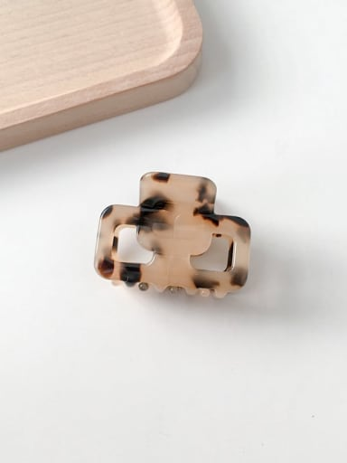 Hawksbill turtle Cellulose Acetate Trend Geometric Alloy Jaw Hair Claw