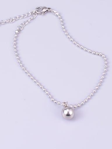 Trend Titanium Bead Bead Anklet