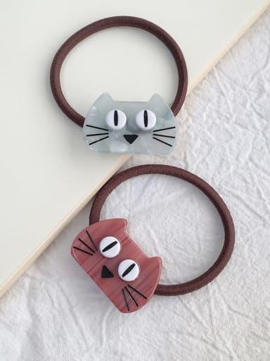 Cellulose Acetate Cute Cat Hair Rope