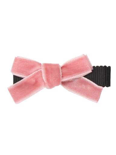 4 lotus root Pink Alloy Fabric Cute Bowknot  Multi Color Hair Barrette