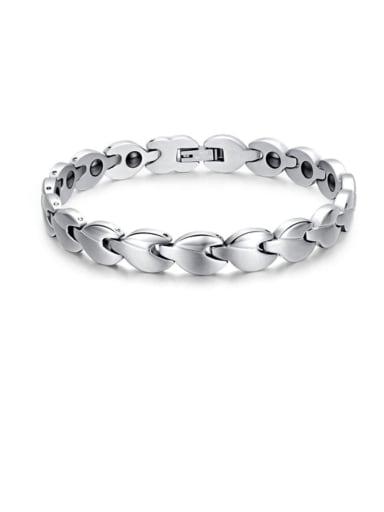 Titanium Steel Geometric Minimalist Band Bangle