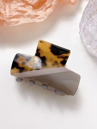 Hawksbill shell 6.2cm Alloy Cellulose Acetate Minimalist Geometric  Jaw Hair Claw