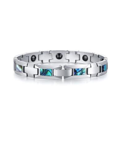 Stainless Steel Shell Man Bracelet