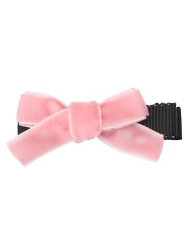 1 Anna powder Alloy Fabric Cute Bowknot  Multi Color Hair Barrette