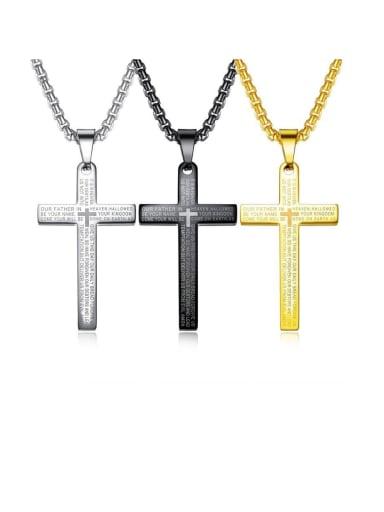Titanium Letter Minimalist Necklaces