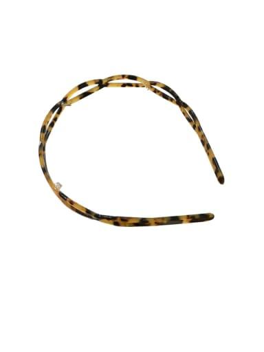 Cellulose Acetate Vintage Geometric Hair Headband