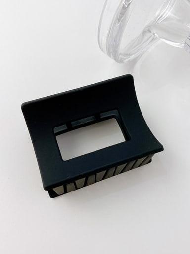 2 rectangular 6.2cm Alloy Resin Minimalist Geometric  Multi Color Jaw Hair Claw