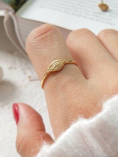 925 Sterling Silver Cubic Zirconia Evil Eye Cute Midi Ring