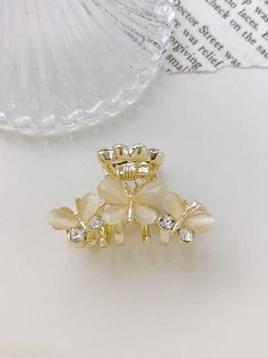3 Butterfly  3.5cm Alloy Cats Eye  Minimalist Butterfly  Jaw Hair Claw