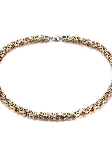 Titanium Steel Irregular Vintage Necklace