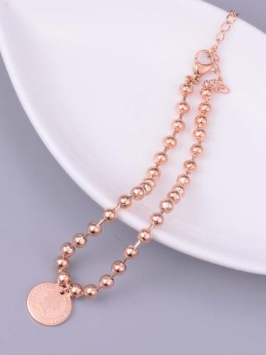 Titanium Queen's Beaded Bracelet