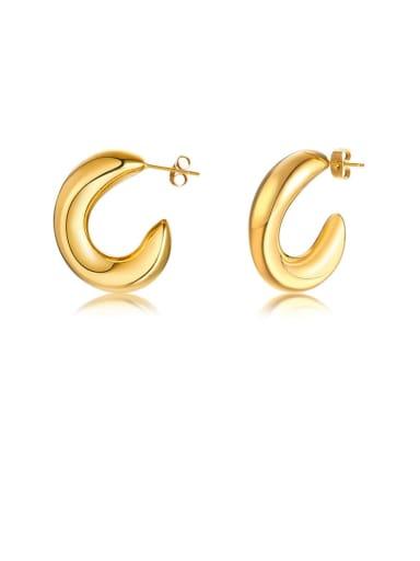Stainless steel Geometric Minimalist Stud Earring