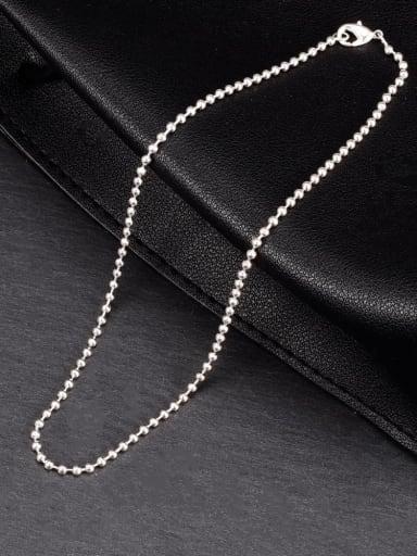 Titanium Steel Irregular Minimalist Beaded Bracelet